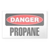 Danger: Propane Decal