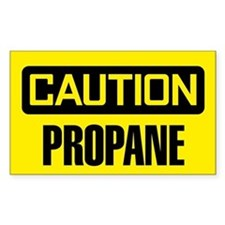 Caution: Propane Decal