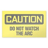 Caution: Do Not Watch The Arc Decal