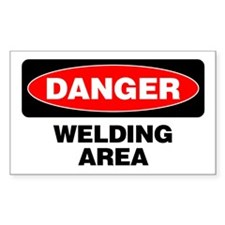 Danger: Welding Area Decal