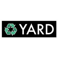 Yard Recycling Sticker (Black Series)