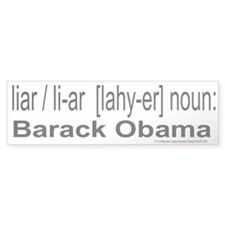 Liar's Club Bumper Bumper Sticker
