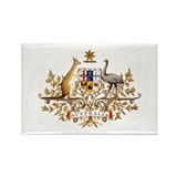 Australian Coat of Arms Rectangle Magnet