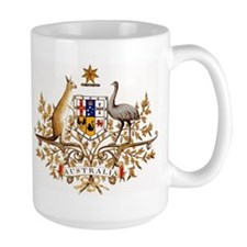 Australian Coat of Arms Coffee Mug
