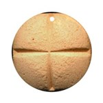40 mg wafer x-mas Ornament (Round)