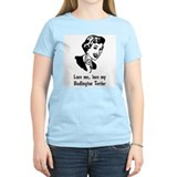 Bedlington Terrier Women's Pink T-Shirt