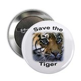 "2.25"" Button (1) featuring Save the Tiger"