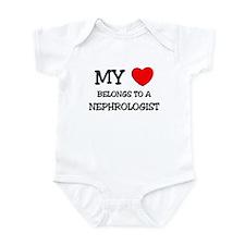 My Heart Belongs To A NEPHROLOGIST Infant Bodysuit
