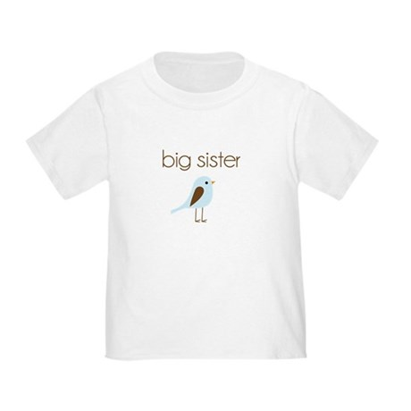 mod big sister t-shirt birdie Toddler T-Shi