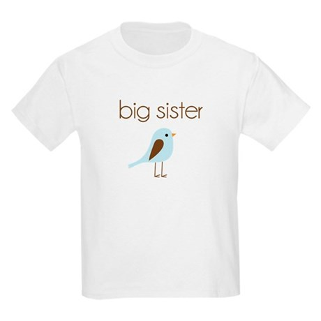 mod big sister t-shirt birdie Kids Light T-Shirt