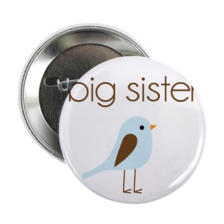"mod big sister t-shirt birdie 2.25"" Button"