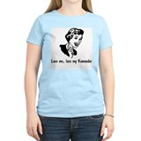 Komondor Women's Pink T-Shirt
