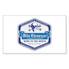 Old Ebeneezer Rectangle Sticker 10 pk)