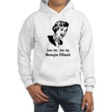 Norwegian Elkhound Jumper Hoody