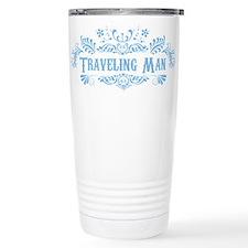Traveling Man Ceramic Travel Mug
