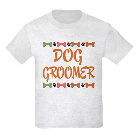 Cute Dog Groomer Kids Light T-Shirt