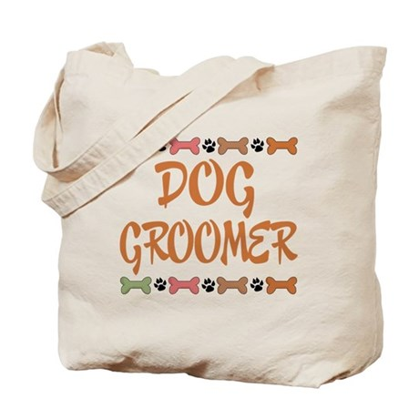 Cute Dog Groomer Tote Bag