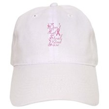 Don't Let Cancer Steal Second Baseball Cap