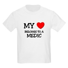 My Heart Belongs To A MEDIC T-Shirt