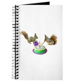 Squirrels Birthday Journal