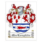 MacLoughlin Coat of Arms Small Poster