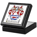 MacLoughlin Coat of Arms Keepsake Box