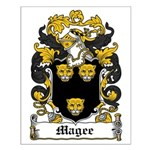Magee Coat of Arms Small Poster