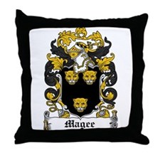 Magee Coat of Arms Throw Pillow