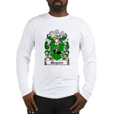 Maguire Coat of Arms Long Sleeve T-Shirt