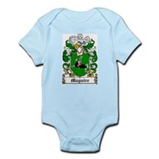 Maguire Coat of Arms Infant Creeper