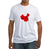 Daddy in China Map Shirt
