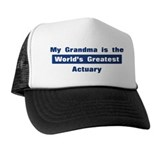 Grandma is Greatest Actuary Trucker Hat
