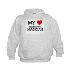 My Heart Belongs To A MAGICIAN Hoodie