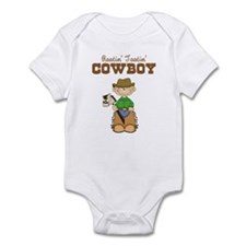 Rootin' Tootin' Blonde Cowboy Infant Bodysuit
