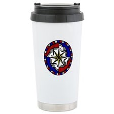 Grateful Dead Compass Ceramic Travel Mug
