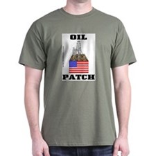 Oil Patch,US,USA,Mud Logger T-Shirt,Oil,