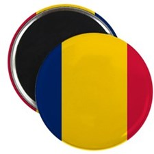 "Flag of Chad 2.25"" Magnet (10 pack)"