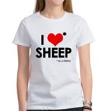 I Love* Sheep Tee