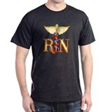 RN Caduceus Black T-Shirt