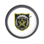 Orange County Sheriff Wall Clock