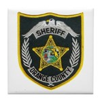 Orange County Sheriff Tile Coaster