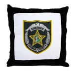 Orange County Sheriff Throw Pillow