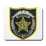 Orange County Sheriff Mousepad