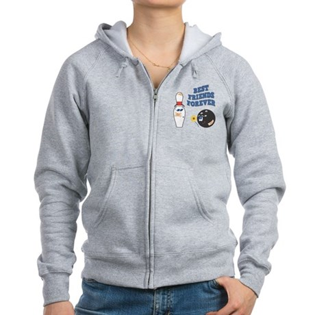 Best Friends Forever Women's Zip Hoodie