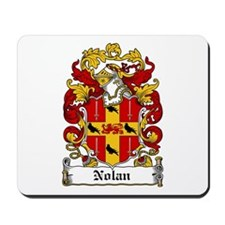 Nolan Coat of Arms Mousepad