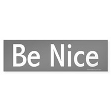 Be Nice (on black)