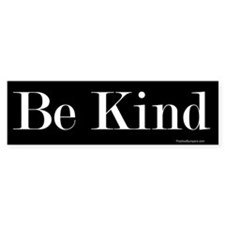 Be Kind (on black)