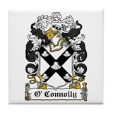 O'Connolly Coat of Arms Tile Coaster