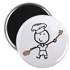 Boy & Chef Magnet