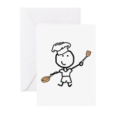 Boy & Chef Greeting Cards (Pk of 10)